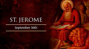 St. Jerome Feast Day
